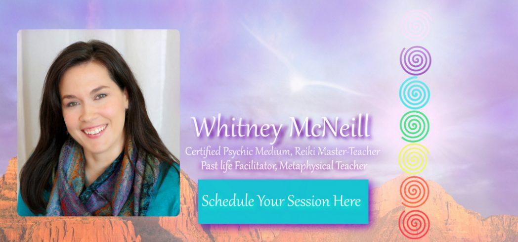 Whitney McNeill International Certified Psychic Medium Sedona