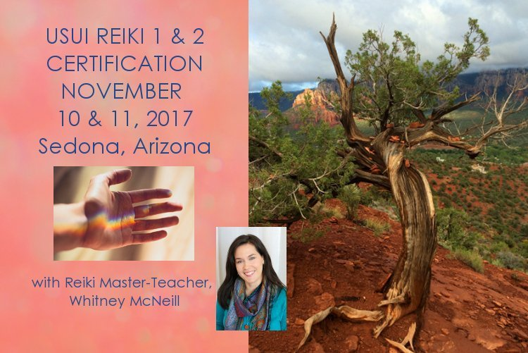 Usui Reiki Class Level 1 & 2 - November 2017 - Sedona @ Messenger of Spirit, LLC | Sedona | Arizona | United States
