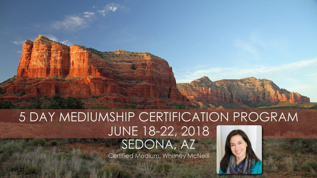 Mediumship Certification 5 Day Program - Sedona, AZ - June 2018 @ Messenger of Spirit, LLC | Sedona | Arizona | United States
