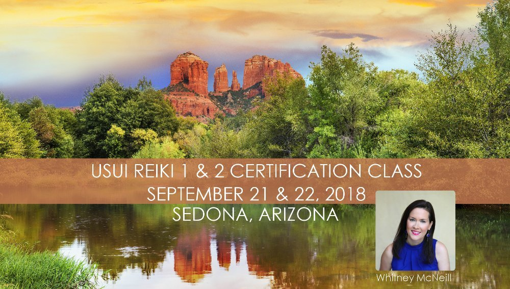 Usui Reiki 1 & 2 Class - September 2018 @ Messenger of Spirit, LLC | Sedona | Arizona | United States