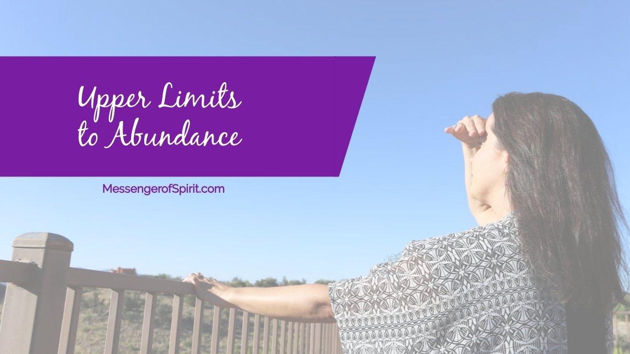 limits to abundance