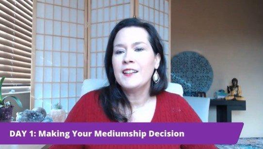Making Your Mediumship Decision